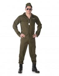 Costume da pilota di caccia per adulto
