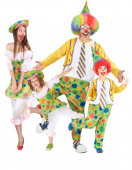 Costume di famiglia Clown