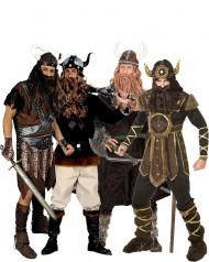 Travestimento gruppo tribù 4 vichinghi