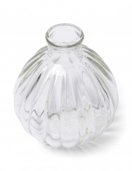 Mini vaso in vetro retro 10 cm