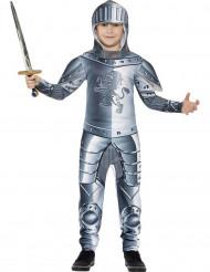 Costume da cavaliere con armatura lucente per bambino