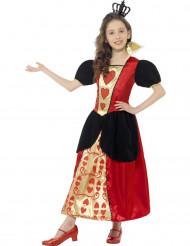 Costume da Dama di cuori per bambina