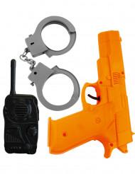 Kit di accessori da poliziotto per bambino