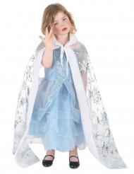 Mantello principessa dei ghiacci bambina