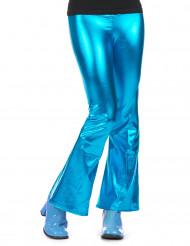Pantaloni disco turchesi per donna