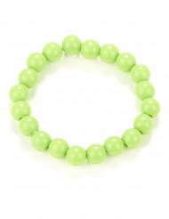 Bracciale di perle verde adulto
