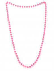 Collana di perle rosa adulto