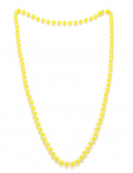 Collana di perle gialle adulto