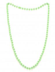 Collana di perle verdi adulto