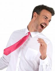 Cravatta fucsia per adulto
