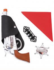 Kit accessori da cowboy per bambino