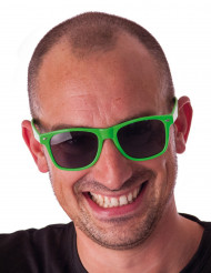 Occhiali blues verde fluo adulto