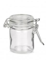 Mini barattolo in vetro 6 cm