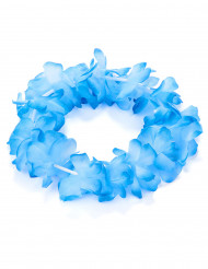 Braccialetto hawaiano blu per adulto