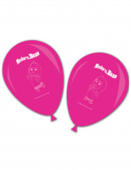 8 palloncini rosa Masha e Orso™