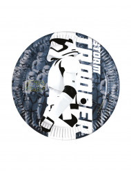 8 piattini Stormtrooper STAR WARS VII ™