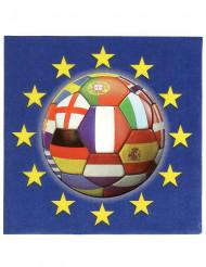 20 Tovaglioli di carta Europei 2016