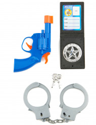 Kit poliziotto da bambino
