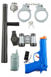 Set accessori da poliziotto bambino
