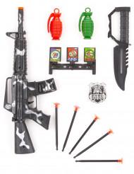 Kit di accessori militari per bambino