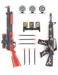 Kit di accessori militari con fucili per bambino