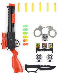 Kit di accessori militari con pallottole per bambino