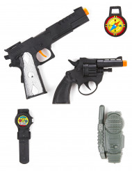 Kit di accessori militari con walkie talkie per bambino