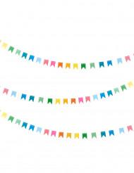 Ghirlanda di bandierine multicolori