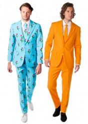 Costume di coppia Opposuits™ Tulipano e Arancione
