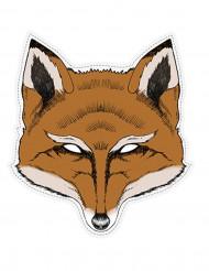 Maschera da volpe in carta
