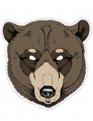 Maschera da orso in carta