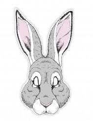 Maschera da coniglio in carta