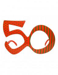 Occhiali arancione verdi 50 anni