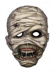 Maschera da mummia in carta