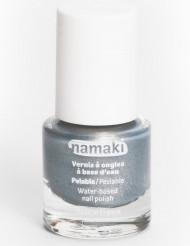 Smalto per unghie a base di acqua argento 7,5 ml Namaki Cosmetics ©