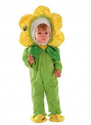 Costume da fiorellino giallo per neonato
