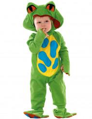 Costume da rana verde per neonato