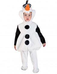 Costume da pupazzo di neve per bambino