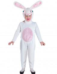 Costume da coniglietto bianco bambino