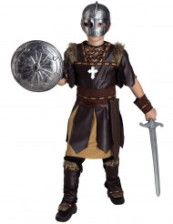 Costume da gladiatore marrone per bambino