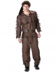 Costume da cacciatore del Nord America per uomo