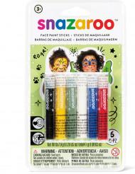 6 Matite trucco colori misti Snazaroo™