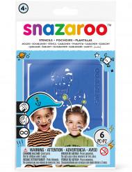 6 Mascherine per trucco adesive Snazaroo™