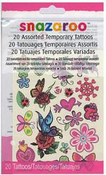 20 Tatuaggi temporanei per bambina Snazaroo™