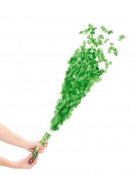 Cannone sparacoriandoli verdi 20 cm