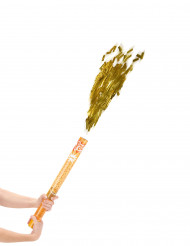 Cannone sparacoriandoli dorato 60 cm