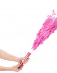 Cannone sparacoriandoli rosa