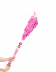 Cannone sparacoriandoli rosa 60 cm