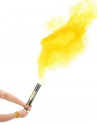 Cannone sparacoriandoli polvere giallo