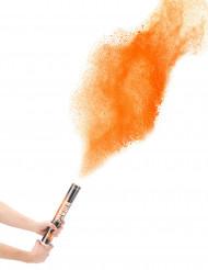 Cannone sparacoriandoli polvere arancione